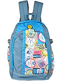 Friend Agencies Nylon 20 Liters Blue School Backpack (FA016)