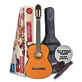Ashton Guitare classique avec accessoires Taille classique naturel