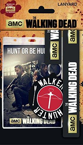 Walking Dead Schlüsselanhänger Mit Band & Schlüsselanhänger Gummi Hunt