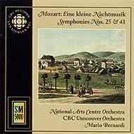 Mozart: Kleine Nachtmusik (Eine) / Symphonies Nos. 25 and 41