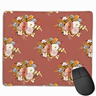Autumn Love - Rust_67273 Mouse pad Custom Gaming Mousepad Nonslip Rubber Backing 9.8