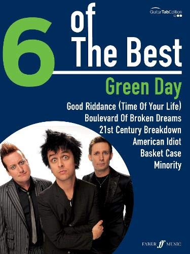 6 of the Best: Green Day (Guitar Tab Edition) (Tab Guitar Day Green)