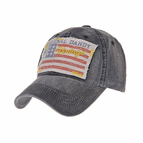 Imagen de withmoons de béisbol de trucker sombrero de baseball cap  distressed american flag trucker cap ... 15d6f6def10