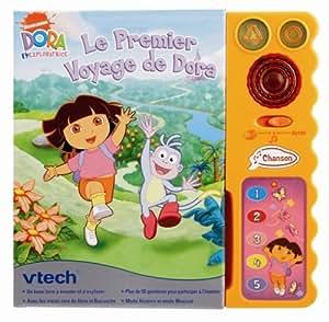 Vtech - 80-062605 - Jeu éducatif électronique - Magi Livre interactif Dora - Format compact