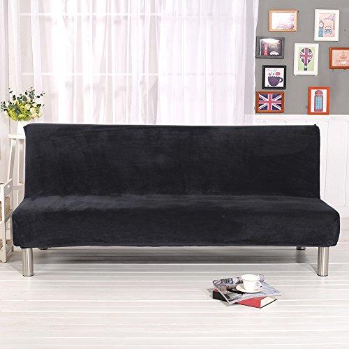 Bloomma copridivano, solid sofa couch cover per divano imbottito in tessuto elasticizzato con rivestimento in tessuto soffice