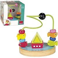 Goula - Laberinto mar, juguete para bebé, color azul, rojo y amarillo (Diset 53453) , color/modelo surtido