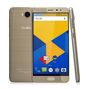 Cubot Cheetah 2 Smartphone 3GB Ram 32GB mit 5.5 Zoll (13,9 cm) IPS FHD Touch-Display, 3000 mAh Akku, Dual-SIM/ 8.0MP +13.0MP Kamera, 4G LTE FDD, Android 6.0 (Gold)