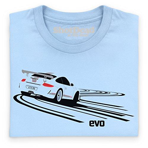 evo GT3 Sports Car T-Shirt, Herren Himmelblau