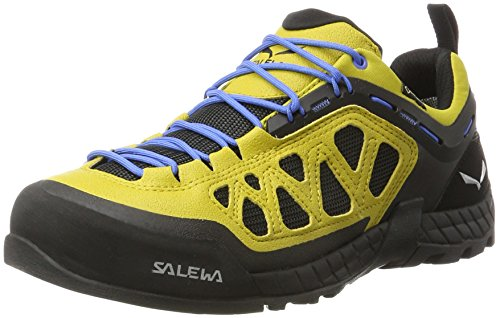 Salewa Ms Firetail 3 Gore-Tex, Chaussures dEscalade Homme Multicolore (Golden Palm/black Out)