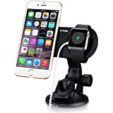 Magnetic Universal Car Mount, VicTsing® Dashboard Car Mount Adjustable Windshield Holder Cradle with Strong Sticky Gel Pad for Apple Watch, iPhone, iPad, Samsung Galaxy S6 Edge S5 or other Smartphone