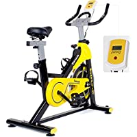 Indoor Exercise Bike, Training Cycle Exercise Bike Fitness Cardio Workout Home Cycling Racing Machine