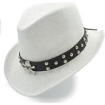 Amazon.es  Sombrero De Copa - Blanco 4c2c12e84b2