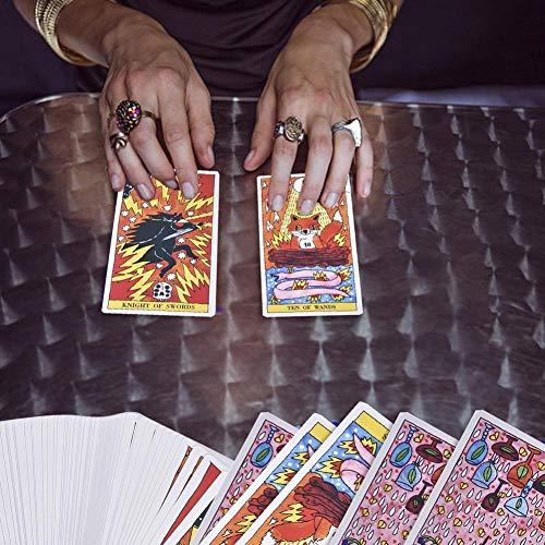 duhe189014 78 Tarot-Karten Lernspielzeug für Kinder Shenque Card Tischspiel Useful groß