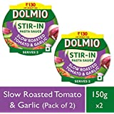 Dolmio Pasta Sauce Slow Roasted Garlic & Tomato, Stir In (Pack Of 2), 2*150gm