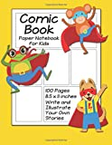Best Creativity for Kids Teen Books For Girls - Comic Book Paper Notebook for Kids: Write And Review
