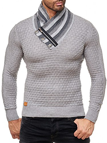 Red bridge uomini maglioncino collo a scialle felpa a maglia inverno moda maglione