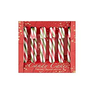 1 Box Peppermint Candy Canes