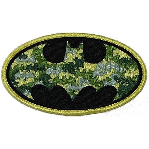BATMAN, Camo Bat Logo, Officially Licensed DC Comic Hero Original Artowork, 4
