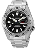 Seiko Stargate II Automatic Dive Watch with Black Dial and Stainless Steel Bracelet SRP491K1