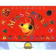Miss Spider Board Books (Sunny Patch Library)