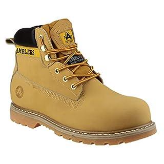 Amblers Steel FS7 Steel Toe Cap Boot/Mens Boots (8 UK) (Honey)