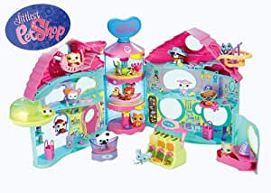 littlest petshop hasbro 667651480 poup es la m nagerie jeux et jouets. Black Bedroom Furniture Sets. Home Design Ideas