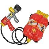 Smoby - 109250916002 - Pistolet À Eau - Sam Le Pompier - Recharge Dos