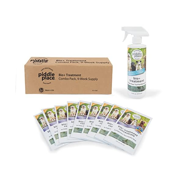 Piddle Place 9 Week Bio Plus Enzyme Treatment and Turf Maintenance Value Pack 5