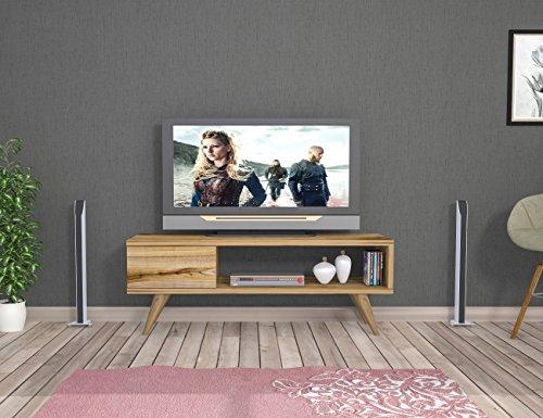 MAYA-TV-Lowboard-Natur-Holzfarbe-TV-Board-Fernsehtisch-in-elegantem-Design
