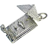 Welded Bliss Sterling 925 Silver Pyramid Ancient Egypt Opening Charm WBC1461
