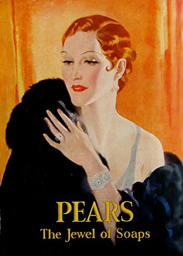 Vintage Barbershop & Salon PEARS SOAP IS THE JEWEL OF SOAPS 250gsm Gloss Art Card A3 Reproduction Poster