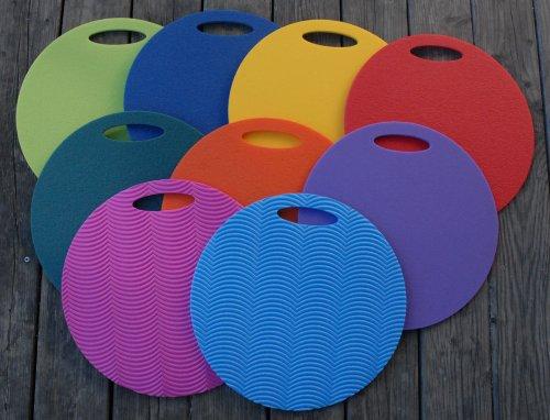 Schaumstoff Sitzkissen Set 25 Stück Regenbogenfarben