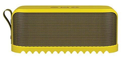 Jabra Solemate Bluetooth-Lautsprecher (Bluetooth 3.0, NFC, Freisprechfunktion) gelb Digital Docking Speaker System