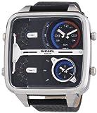 Diesel - DZ7283 - Montre Homme - Quartz Chronographe - Bracelet Cuir Noir