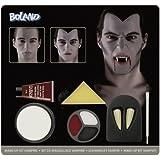 Boland 45083 - Schminkset Vampir Farben, Schwamm, Pinsel und Zähne