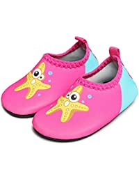 94175cb2b JIASUQI Baby Barefoot Swim Water Skin Shoes Calcetines Aqua para Piscina de  natación en la Playa