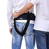 Cintura di trasferimento cinturone con cosciale Sollevamento medico Imbracatura Cura del paziente Sicurezza Camminare Salute Fasciatura Assistenza ambulatoriale