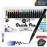 Brush Pen Set Pinselstifte - [20+1 Stück]