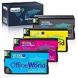 OfficeWorld 953XL patronen Für Remanufactured HP 953XL 953 XL Druckerpatronen, Kompatibel mit HP OfficeJet Pro 8710 7740 8720 8715 8218 8725 8718 8730 8740 8728 7720 7730 8210 Drucker