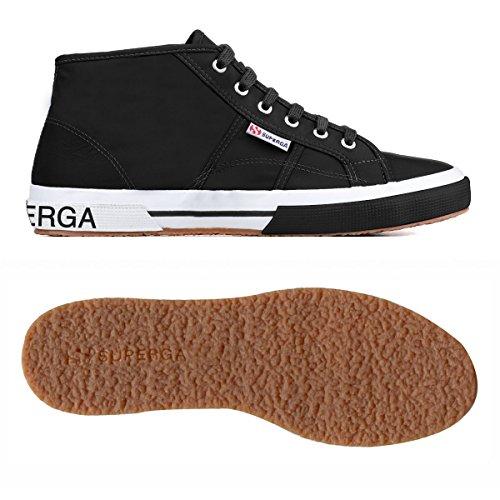 Superga Damen 2754-Pluslnylu Hohe Sneaker, Blau Black