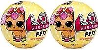 LOL Surprise Series 2 Pet Dolls Bundle of 2