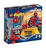 LEGO DUPLO 10607 - Spider-Man- Motorrad-Werkstatt