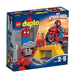 Lego Duplo Spider Man Web Bike Workshop Figure, Multi Color