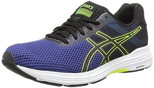 ASICS Gel-Phoenix 9, Scarpe da Running Uomo, Blu (Deep Ocean/Flash Yellow 400), 43.5 EU