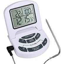 viele Kerntemperaturen gespeichert Symbolanzeige 3-teilig Exclusives Funk-Bratenthermometer ET934 mit Timer Funk/übertragung