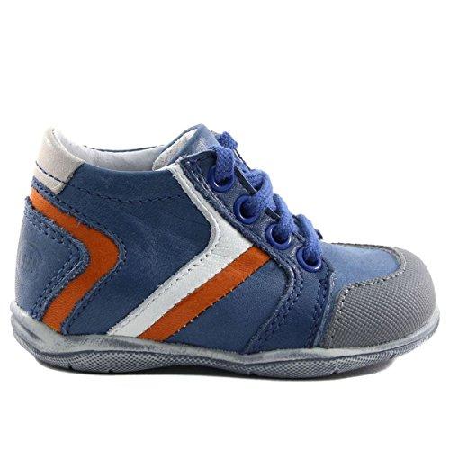 LITTLE MARY KIDSHOES, Jungen Sneaker Blau