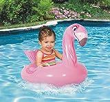 PVC-Karikatur Tiere 1-5 Jahre alte Kinder schwimmen Wasserspielzeug Ring Verdickung Kindersitzring , flamingo