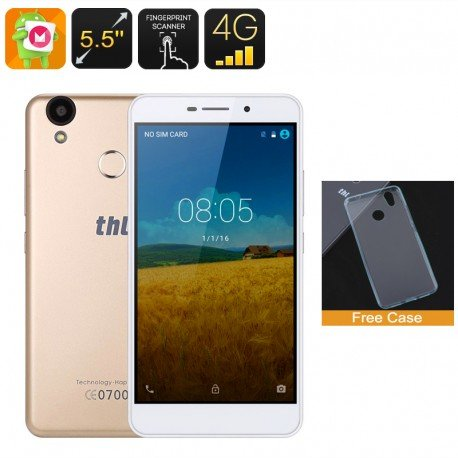 thl T9Pro Smartphone–doble-imei, 4g, Android 6.0, Fingerabdruck, Display von 5,5Zoll HD, Quad-Core CPU, 2GB RAM (oder