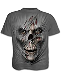 SPIRAL - T-Shirt Mec Spiral DARK WEAR - Stitched Up - Gris