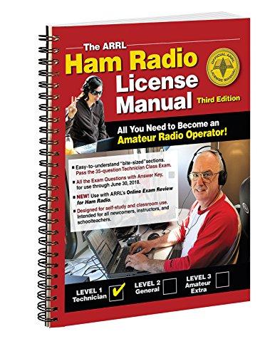 The ARRL Ham Radio License Manual Spiral Bound by ARRL Inc. (2010-11-01)